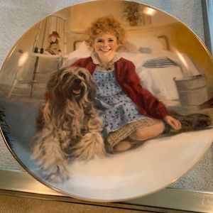"""Other - """" Annie and Sandy"""" collectors plate"""